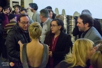 Con el periodista Fernando Olmeda