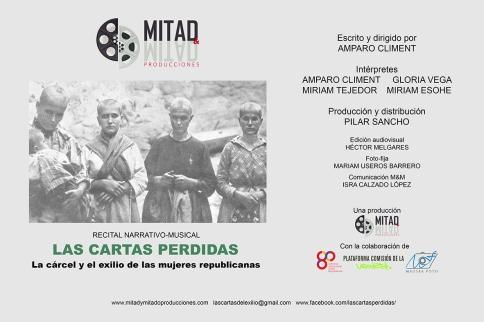 LAS CARTAS PERDIDAS Cartel WebH2